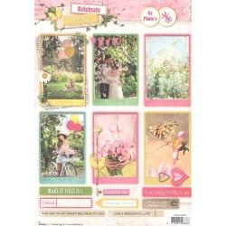 Papírové výseky A4 - Celebrate Spring 553 (SL)