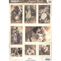 Papírové výseky A4 Romantic Picture nr.46 (SL)