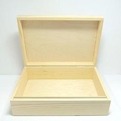 Krabice dřevěná 30 x 20,5 x 9 cm