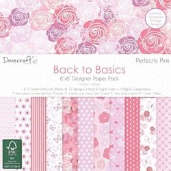 Sada papírů 15x15 Perfectly Pink