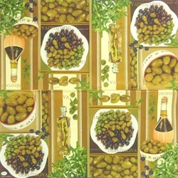 Olivový mix 33x33