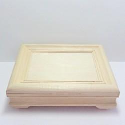 Dřevěná krabička obraz - obdélník (2.jakost)