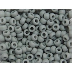TOHO 08/0 Opaque Frosted Gray 10g