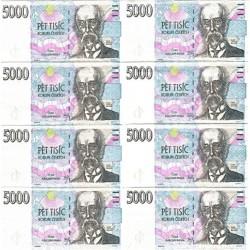 Kapesníček Bankovka 5000 Kč