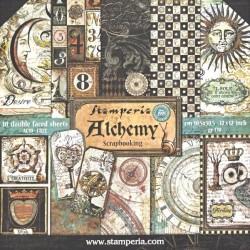 Sada papírů 30,5x30,5 170g Alchemy