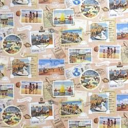 Vintage léto - známky 33x33