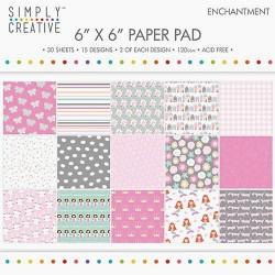 Sada papírů 15x15 Okouzlení (Simply Creative)