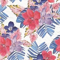 Tropické květy 33x33