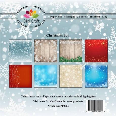 Sada papírů 15x15 Vánoční radost (Dixi Craft)