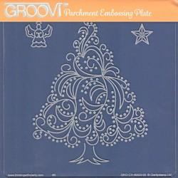 Akrylová deska - vánoční strom (GP)