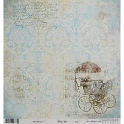 Baby star, Boy 30,5x30,5 scrapbook