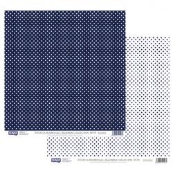 Modrotisk vzor č.06 - 30,5x30,5 scrapbook