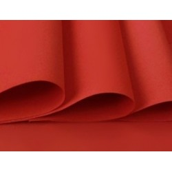 Foamiran 35x29cm, červená