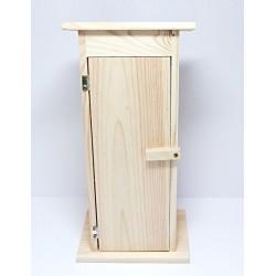 Krabice na láhev - kadibudka