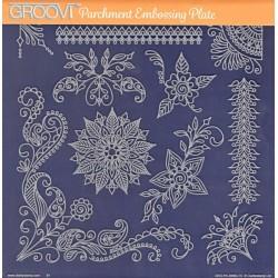 Akrylová deska - různé ornamenty (GP)