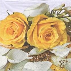 Žluté růže 33x33