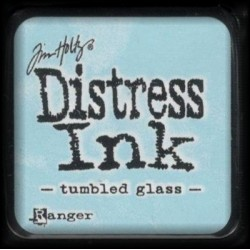 Distress Ink MINI polštářek - tumbled glass