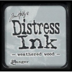 Distress Ink MINI polštářek - weathered wood