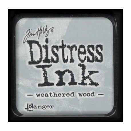 Distress Ink MINI polštářek - weathered wood