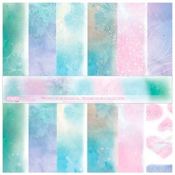 Sada Watercolor - 30,5x30,5 scrapbook