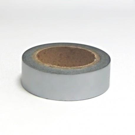 Papírová páska 15mm/10m - stříbrná (metalická)