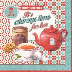 Vždy je čas na čaj 33x33