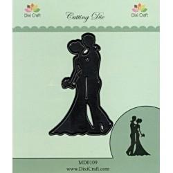 Vyřezávací šablona - Novomanželé