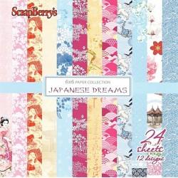 Sada papírů Japanese Dreams 15x15