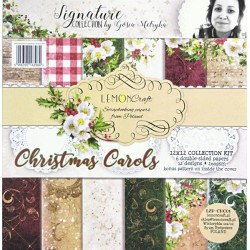 Sada papírů 30,5x30,5 Christmas Carols + bonus