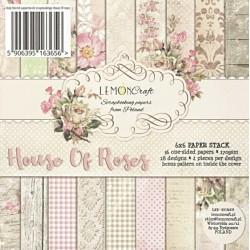 Sada papírů Dům růží II.15x15