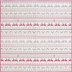 Ivy White small 25x25