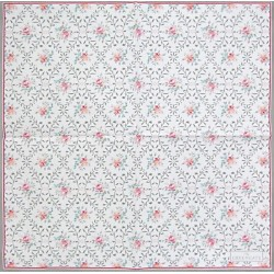 Daisy Pale Grey small 25x25