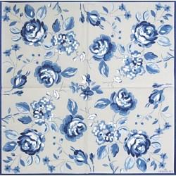 Amanda Dark Blue 33x33