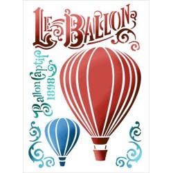 Šablona - Horkovzdušné balóny