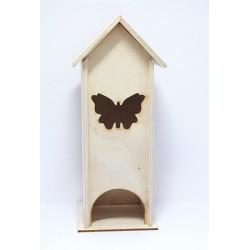 Domeček na čaj s motýlem
