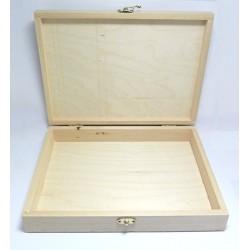 Dřevěná krabička na A4 se zavíráním