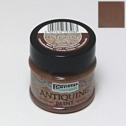 Antiquing 50ml - tmavá hnědá (Pentart)