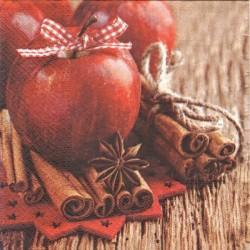 Jablíčko s mašlí 33x33