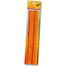 Filcové bordury - žluté odstíny