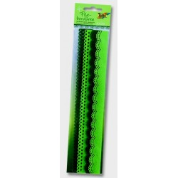 Filcové bordury - zelené odstíny