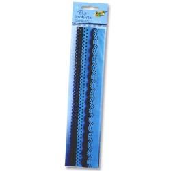 Filcové bordury - modré odstíny