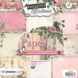 Sada papírů 15x15 Romantic Botanic nr.58 (SL)