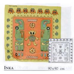 Guttašátek Inkové, 90x90cm CS8