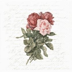 Růže a písmo 33x33