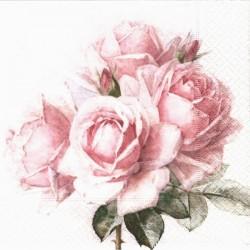 Čtyři růže s poupaty 33x33