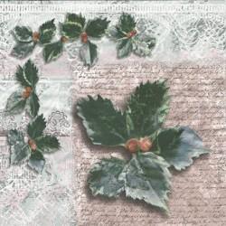 Listí s bobulemi 33x33