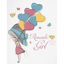 Transfer Cadence 25x35 - Romantic Girl