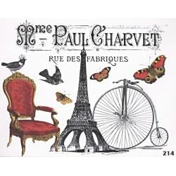 Transfer Cadence 25x35 - Madame Paul Charvet