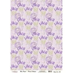Rýžový papír A4 Lavender, razítka
