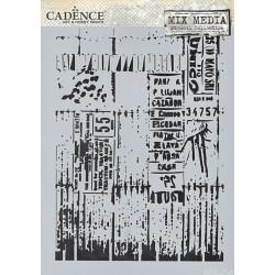 Šablona Cadence Mix Media A4 - motiv 04